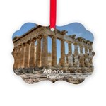Athens Picture Ornament