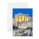 Athens Greeting Cards (Pk of 20)