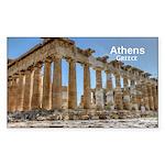 Athens Sticker (Rectangle 50 pk)