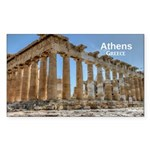 Athens Sticker (Rectangle 10 pk)