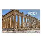 Athens Sticker (Rectangle)