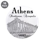 """Athens 3.5"""" Button (10 pack)"""