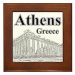 Athens Framed Tile