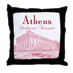 Athens Throw Pillow