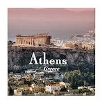Athens Tile Coaster