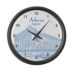 Athens Large Wall Clock
