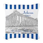 Athens Woven Throw Pillow