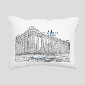 Athens Rectangular Canvas Pillow