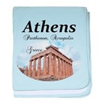 Athens baby blanket