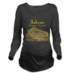 Athens Long Sleeve Maternity T-Shirt
