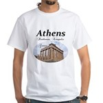 Athens White T-Shirt