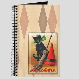 TLK011 Halloween Cat Journal