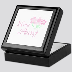 New Aunt Keepsake Box