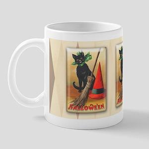 TLK011 Halloween Cat Mug