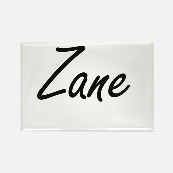 Zane Artistic Name Design Magnets