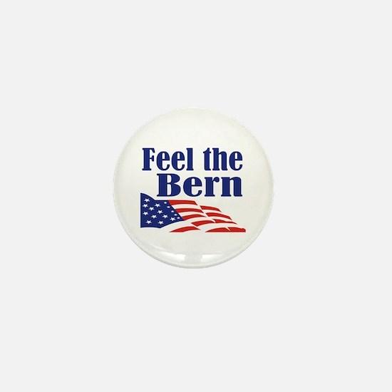 Feel the Bern Mini Button