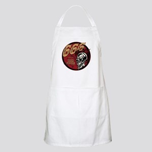 666 Sign of the Devil BBQ Apron