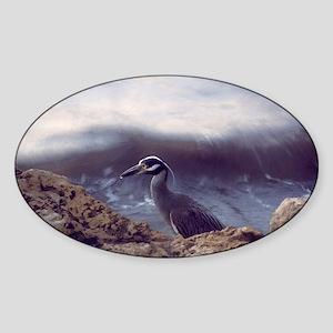A Baby Heron Sticker