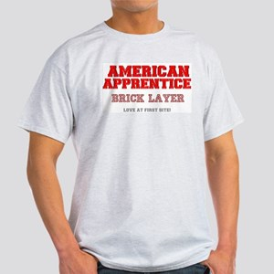 AMERICAN APPRENTICE - BRICK LAYER - LOVE A T-Shirt