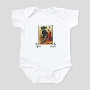TLK011 Halloween Cat Infant Bodysuit