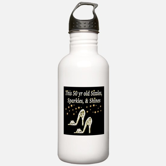 GLAMOROUS 50TH Water Bottle