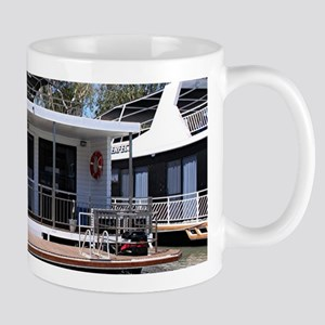 Houseboat on the Murray River, Mannum, South Mugs