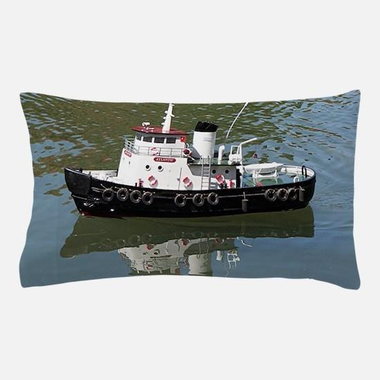 Model tugboat Pillow Case