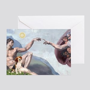 Creation of the Beagle Greeting Card