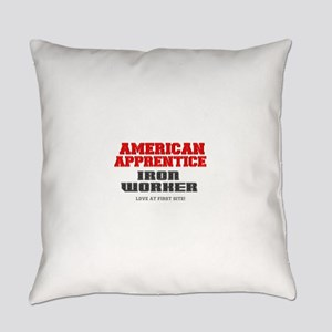 AMERICAN APPRENTICE - IRON WORKER Everyday Pillow