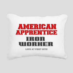 AMERICAN APPRENTICE - IR Rectangular Canvas Pillow