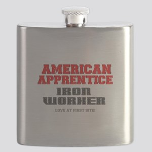 AMERICAN APPRENTICE - IRON WORKER - LOVE AT Flask