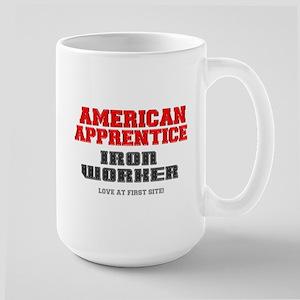 AMERICAN APPRENTICE - IRON WORKER - LOVE AT F Mugs
