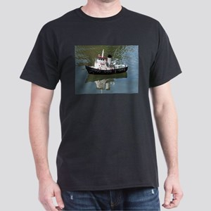 Model tugboat reflections in water T-Shirt