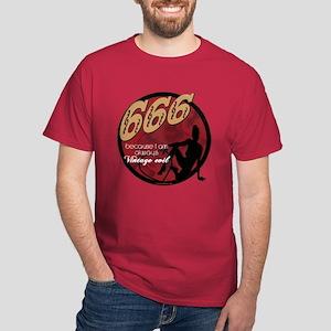 666 Devilish Sign Female Dark T-Shirt