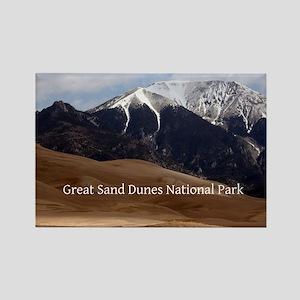 Great Sand Dunes Colorado Souveni Rectangle Magnet