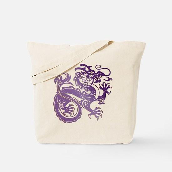 Cool Amethyst dragon Tote Bag