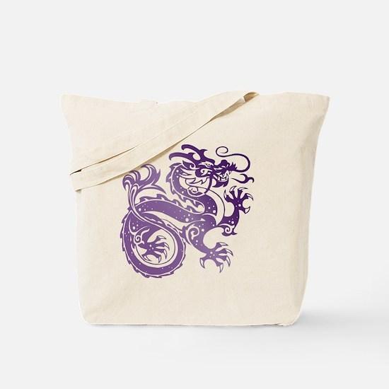 Cute Amethyst dragon Tote Bag