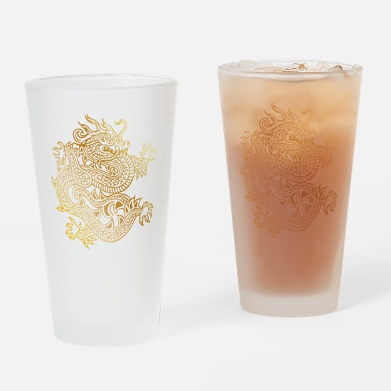 Cute Chinese Drinking Glass