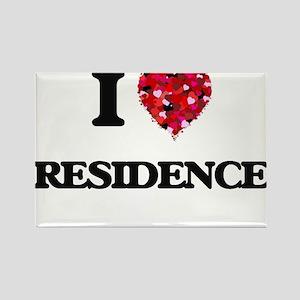 I Love Residence Magnets