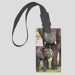 ROMANCE ELEPHANT Large Luggage Tag