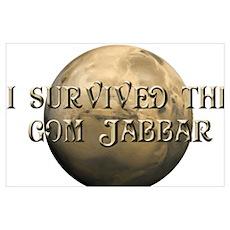 Dune - I survived the Gom Jabbar Poster