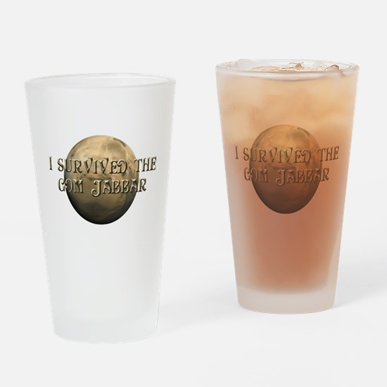 Dune - I survived the Gom Jabbar Drinking Glass