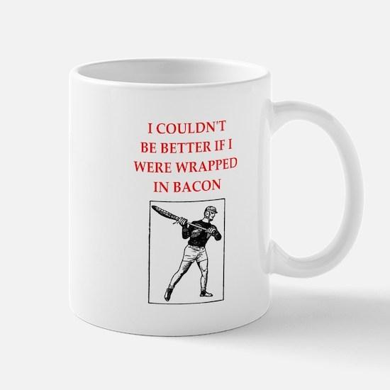 lacrosse joke Mugs