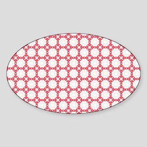 Cute Trendy Pattern Background Sticker