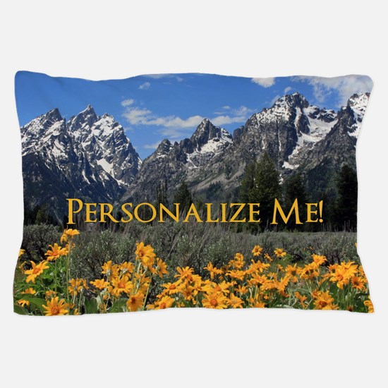 Personalizable Photo Souvenir Grand Te Pillow Case