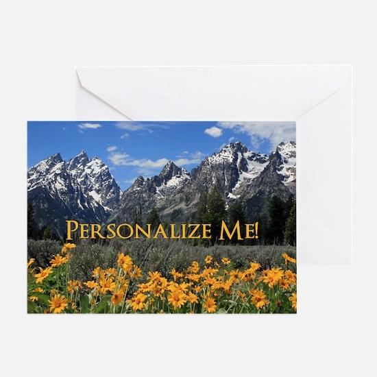 Personalizable Photo Souvenir Grand Greeting Card