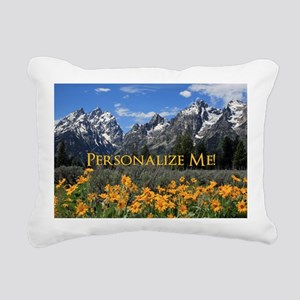 Personalizable Photo Sou Rectangular Canvas Pillow