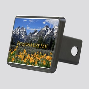 Personalizable Photo Souve Rectangular Hitch Cover