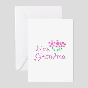 First time grandma greeting cards cafepress new grandma greeting cards pk of 10 m4hsunfo