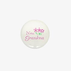 New Grandma Mini Button